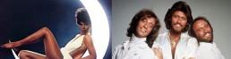 Donna Summer y los Bee Gees